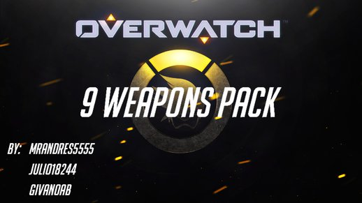 Overwatch 9 Weapons Pack