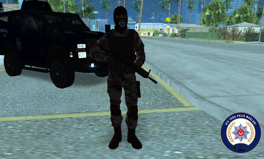 Turkish SWAT New Camo With Mask