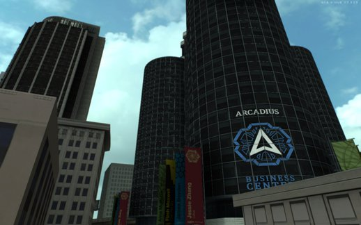 GTA V Arcadius Business Center
