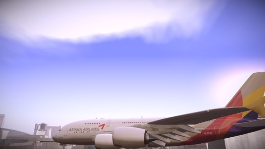 Asiana Airline Airbus A380