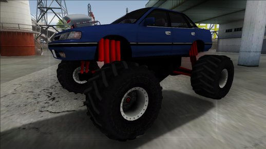 1992 Subaru Legacy Monster Truck