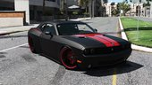 2010 Dodge Challenger SRT8 (Rampage Edition) [Add-On / Replace | Template]