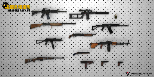 Survarium Weapons Pack V1