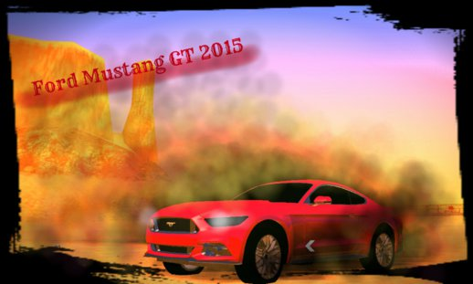 Ford Mustang GT 2015 (no txd) Android