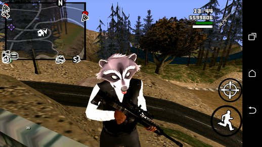 GTA V Heavy Rifle No Txd For Android