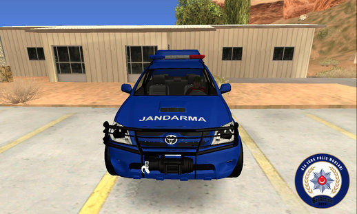 Toyota Hilux-Turkish Gendarmerie Vehicle