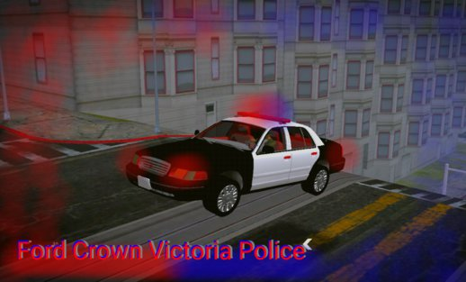 Ford Crown Victoria Police (no Txd) For Android