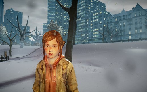 Ellie Wintercoat TLOU