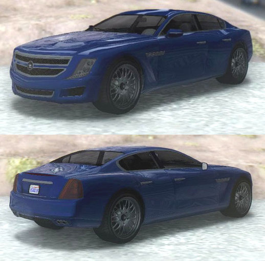 GTA V Albany Alpha Sedan