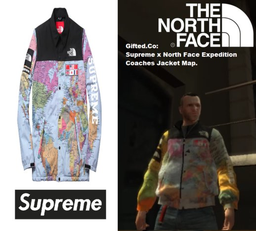 Supreme x North Face Expedition Coaches Jacket IV.