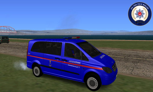 Mercedes Benz Vito-Turkish Gendarmerie Minivan
