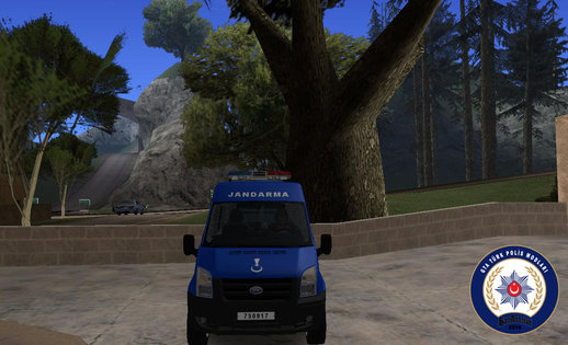 Ford Transit-Turkish Gendarmerie van