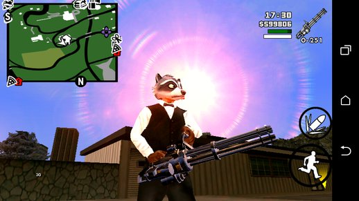 GTA V MINIGUN No Txd For Android
