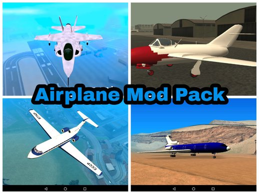 Airplane Mod Pack for Android