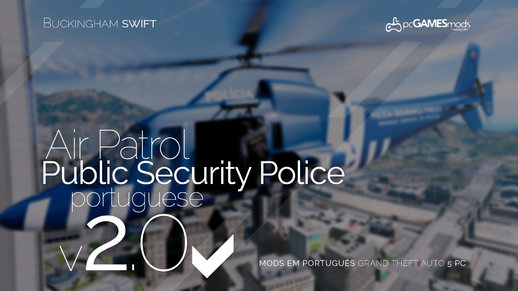 Portuguese Police & EMS - Helicopter [Replace] v1.0