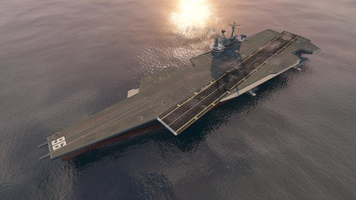 Driveable Enhanced Aircraft Carrier V5.1 (add-on)