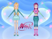 Daphne and Roxy from Winx: Butterflix Adventures