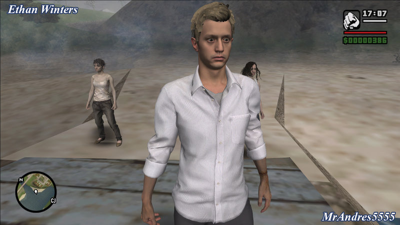 Gta San Andreas Ethan Winters From Resident Evil 7 Mod Gtainside Com