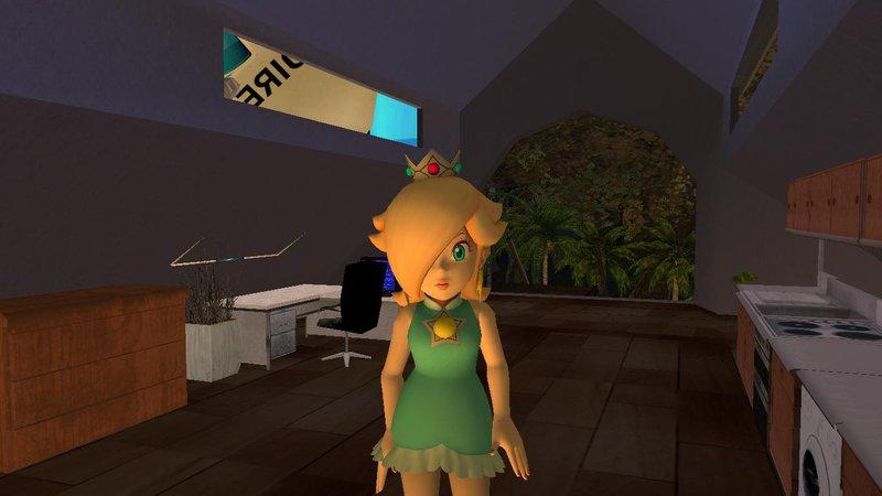 GTA San Andreas Rosalina from Mario Tennis Mod - GTAinside com