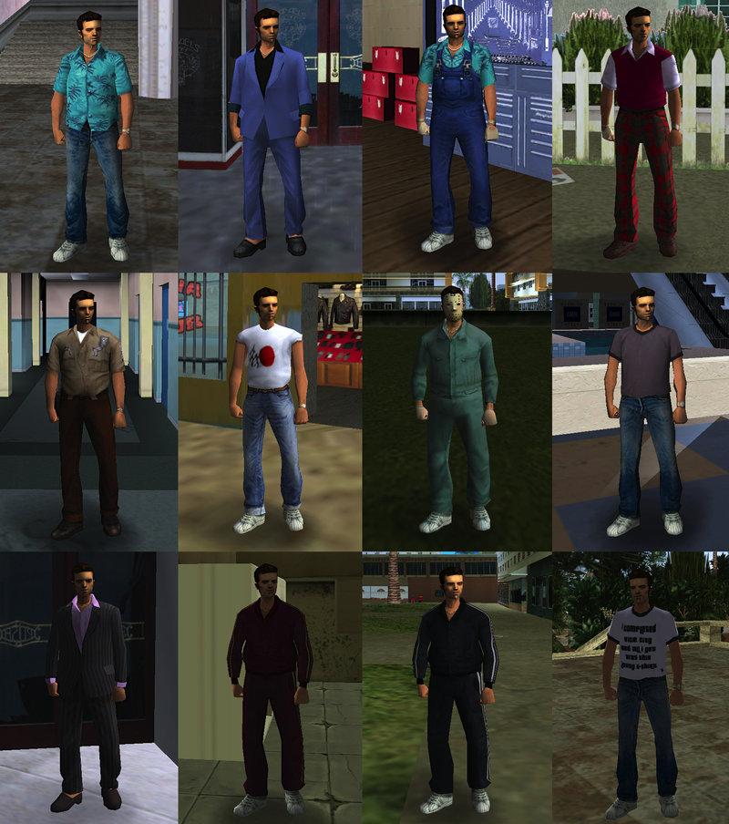 GTA Vice City Claude In Vice City Mod