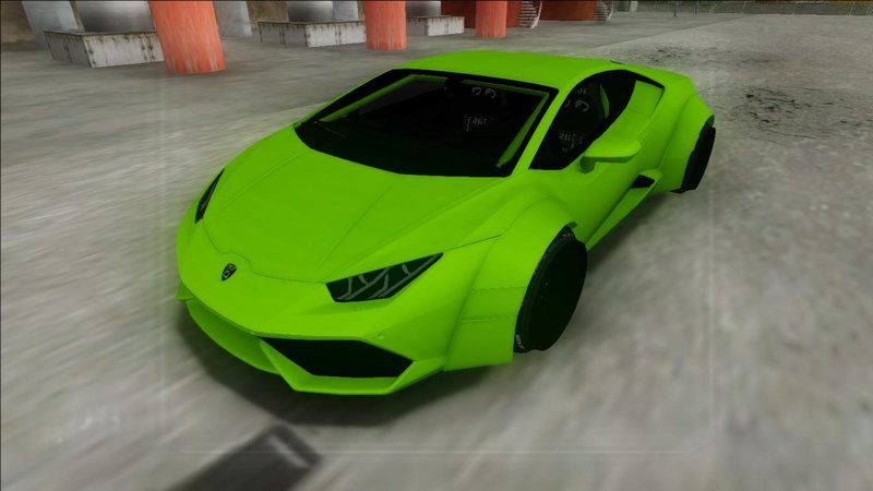 gta san andreas 2014 lamborghini huracan rocket bunny mod. Black Bedroom Furniture Sets. Home Design Ideas