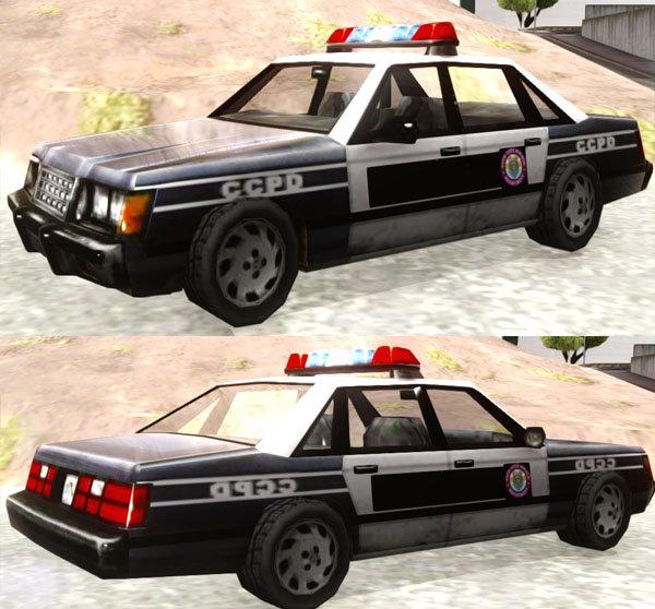 GTA San Andreas Manhunt/GTA VC Police CCPD Mod