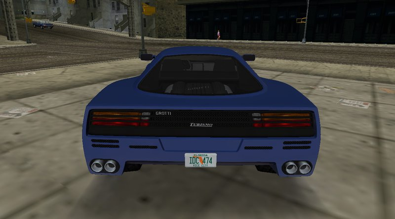 GTA 3 GTA V Grotti Turismo Classic Mod - GTAinside.com
