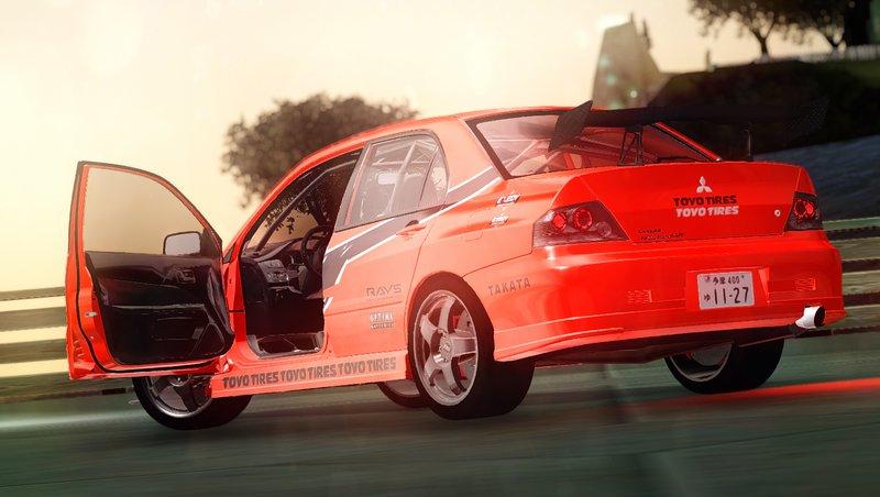 Gta San Andreas Mitsubishi Evolution Ix Mr Tokyo Drift Mod