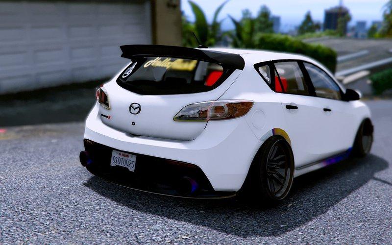 Mazda 3 Mods >> Gta 5 2010 Mazda 3 Add On Mod Gtainside Com