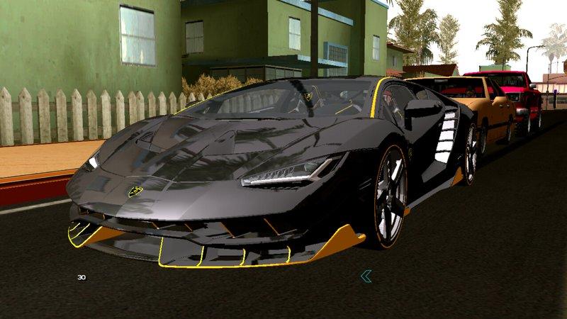 GTA San Andreas Lamborghini Centenario LP770-4 Mod - GTAinside com