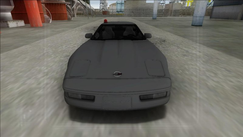GTA San Andreas 1996 Chevrolet Corvette C4 FBI Mod