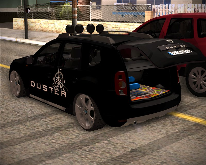 gta san andreas dacia duster aventure stance mod. Black Bedroom Furniture Sets. Home Design Ideas