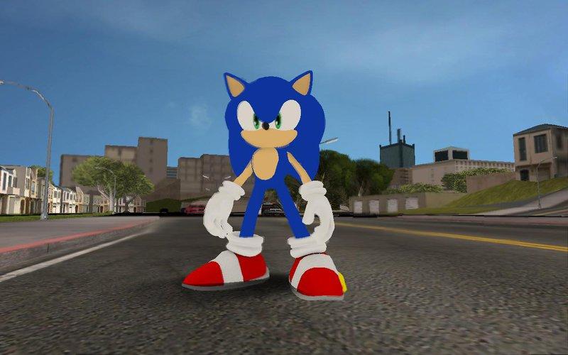 GTA San Andreas Sonic the Hedgehog Mod - GTAinside com