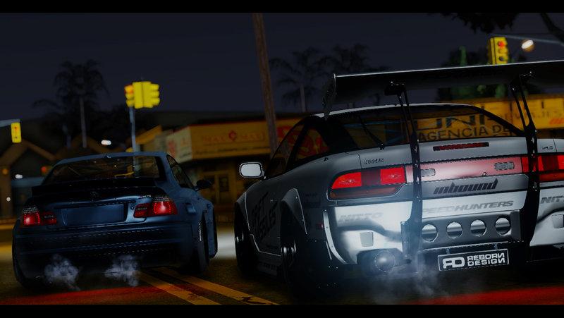 GTA San Andreas Nissan 240SX SixnineWorks Mod - GTAinside com