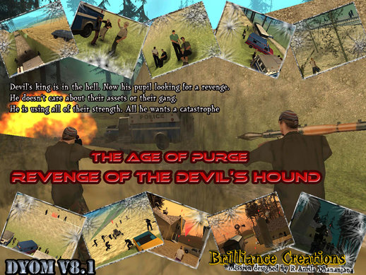The Age of Purge  DYOM S.W.A.T Mission 2 Revenge of the devils hound