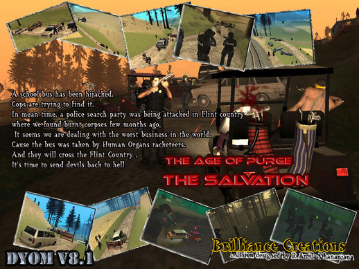 The Age of Purge  DYOM S.W.A.T Mission 1 The Salvation