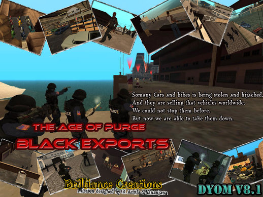 The Age of Purge DYOM S.W.A.T Mission 5 Black Exports