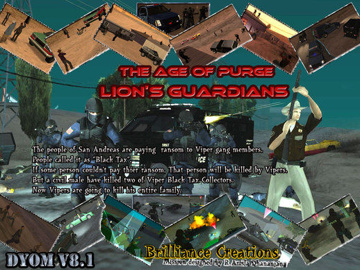 The Age of Purge DYOM S.W.A.T Mission 6 Lions Guardians