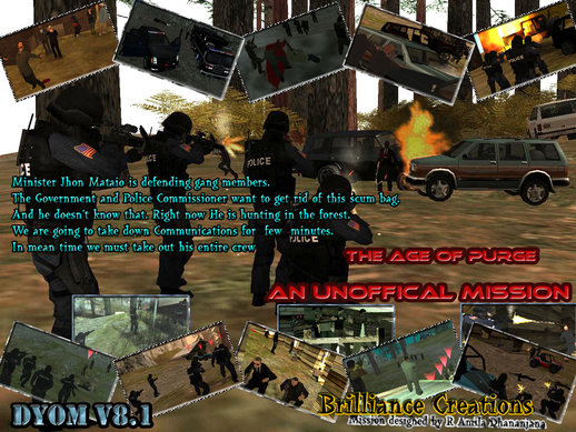 The Age of Purge DYOM S.W.A.T Mission 7 An Official Mission