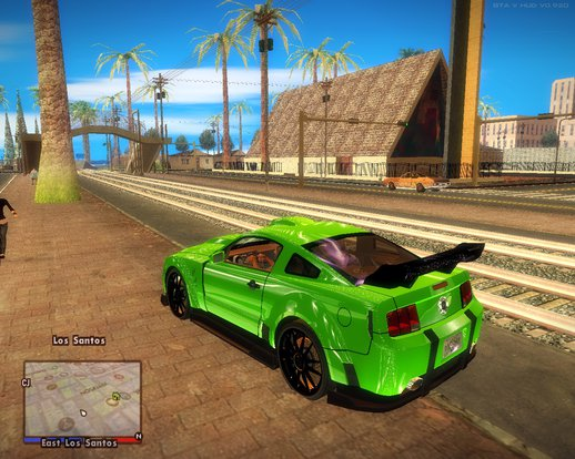 Ford Mustang NFS Green