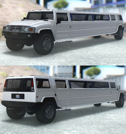 GTA V Mammoth Patriot Limo