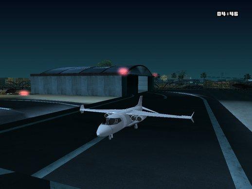 GTA San Andreas Cargo Shamal Mod - GTAinside.com