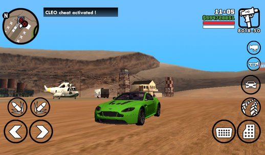 Aston Martin For Android (no Txd ) Only Dff