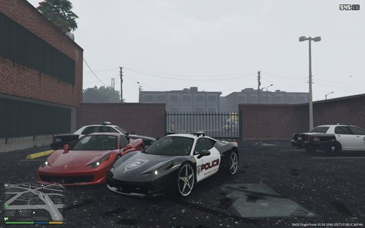 Ferrari Police ELS + Ferrari [add-on] Pack