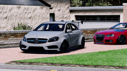 Mercedes-Benz A45 AMG Rocket Bunny [Add-On / Replace]