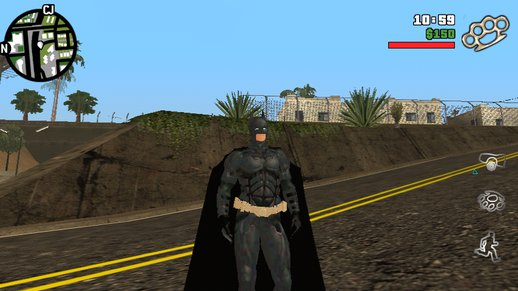 Batman Skin Dff