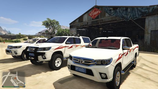 TOYOTA HILUX 2016 pack [replace]