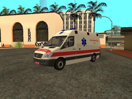 Mercedes-Benz Sprinter Iranian Ambulance