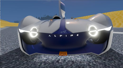 2015 Alpine Vision Gran Turismo Concept [Add-On]
