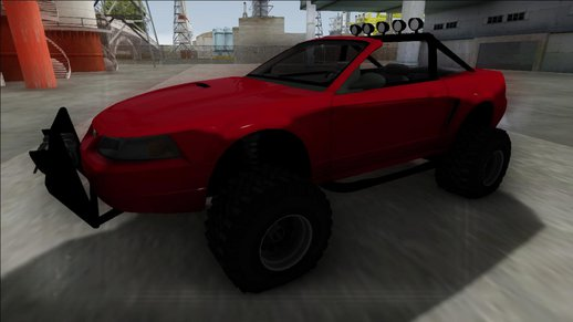 1999 Ford Mustang Cabrio Off Road